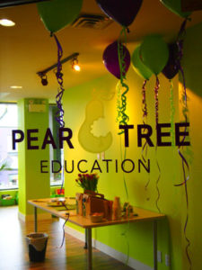 Pear Tree Education anniversary