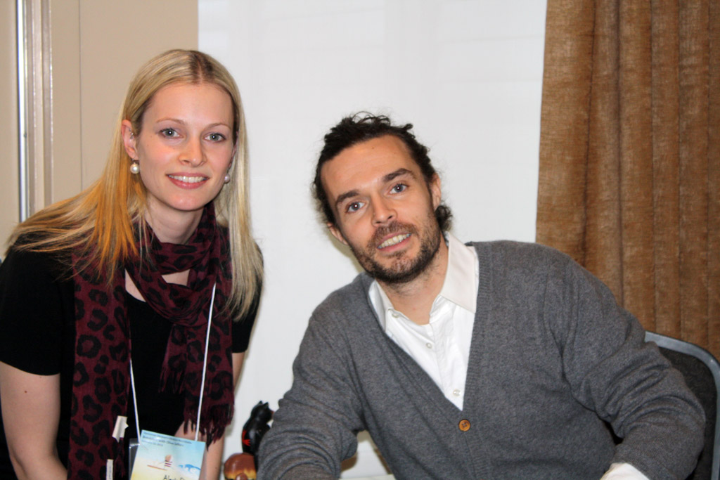 Oliver Jeffers Vancouver Children's Literature Roundtable 1