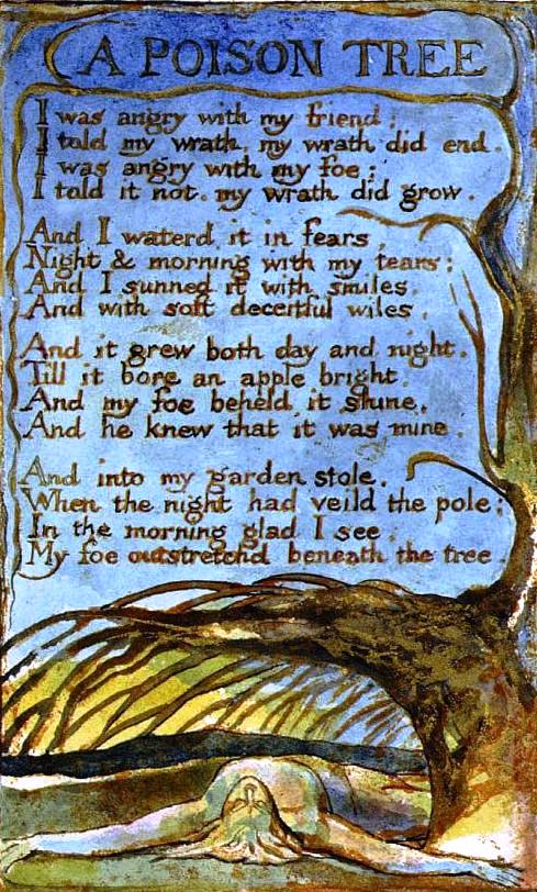 A Poison Tree by William Blake